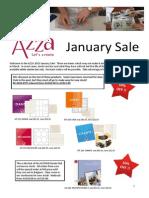 2015 January Sale Flyer