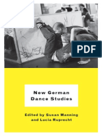 New German Dance Studies