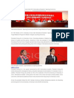 University of Jinan Held 2013 International Students` Opening Ceremony
