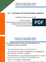 Extractivismo Minero
