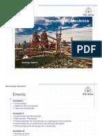 Manutenção Mecânica - Parte 1