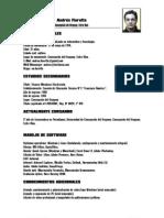 Andrés Fiorotto - Currículum