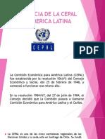 Presencia de La Cepal en America Latina