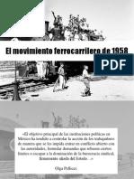 El Movimiento Ferrocarrilero de 1958