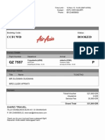 Airasia CCFCWD Invoice