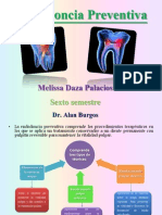 Endodoncia Preventiva