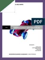 Operaciones Matematicas Micros