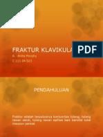 FRAKTUR KLAVIKULA