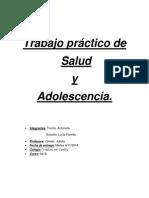 Trabajo Práctico de Salud- Sexualidad.