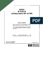 HP 83522A Service Manual Part1