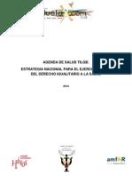 Agenda de Salud Tilgb - 2014