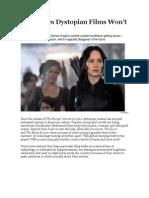 The Topics Dystopian Films Won