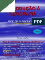 Introdução a Geografia