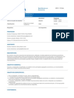Ec-3200 Teoria Macroeconomica 1 Xe-0164 Teoria Macroeconomica i II.2014(1)