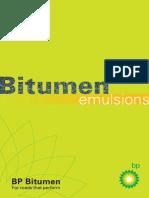 Bitumen Emulsions