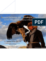 Takuya Soma (2014) Tradition and Transition of Altaic Kazakh Eagle Falconry Culture in Western Mongolia, 3rd International Falconry Festival. 7th December 2014