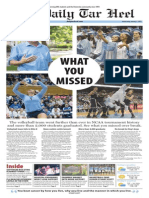 The Daily Tar Heel for Jan. 7, 2015
