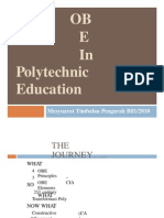 (360301354) OBE in Polytechnic Education