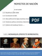 Proyectos de Nación