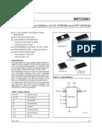 M27C2001 datasheet