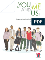 You, Me and Us Respectful Relationships Education Program