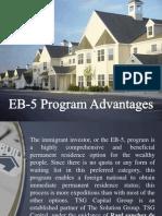 EB-5 Program Advantages
