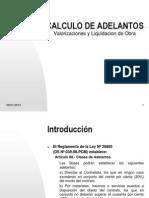 CALCULO DE ADELANTOS.ppt