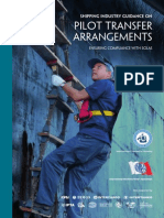 Shipping Industry Guidance on Pilot Transfer Arrangements