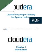 Cloudera Developer Training