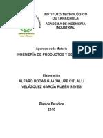 Apuntes de Ing. de Prod. y Servicios