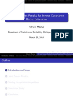 A Joint convex penalty for inverse covariance matrix estimation.