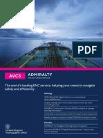 Admiralty Vector Chart Service AVCS Factsheet