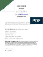 Slg III Lending
