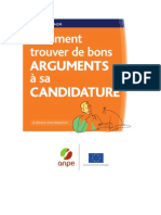 argumenter-candidature