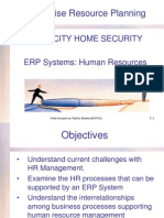 Supporting Human Resource ERP Systems