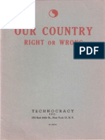 Our Country [Right or Wrong] by Wilton Ivie [1947] R