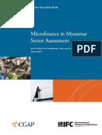 Microfinance in Myanmar Sector Assessment (Jan 2013)_1.pdf