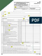 Formulir SPT Masa 1721 Tahun 2014