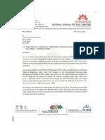Medha Patkar Complaint Illegal Donations NCCL