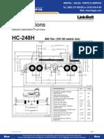 Link Belt HC248 Crane Specifications