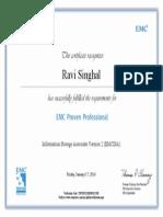 Ravi Singhal Ism