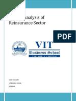 Market Analysis of Reinsurance Sector