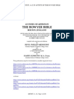 An A to Z of Artists in the Bowyer Bible