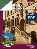 Reisemagazin 2016 Osnabrück / Osnabrücker Land