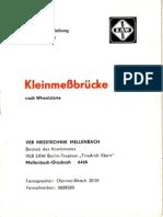 VEB-Mellenbach_Wheatstone Bruecke