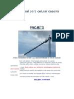 Antena Rural Para Celular Caseira