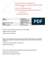 MU0015 –Compensation and Benefits WINTER 2014