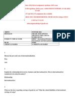 IB0017 –International Business Environment and International Law WINTER 2014