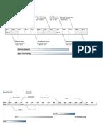 Modelo de Timeline Para PPT