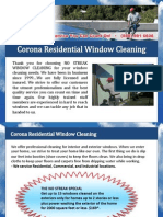Corona Residential Window Cleaning